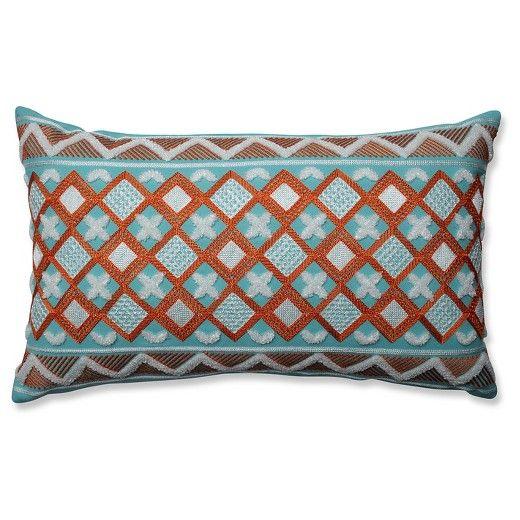"""Orange Throw Pillow Belize (20""""x12"""") - Pillow Perfect® : Target"""
