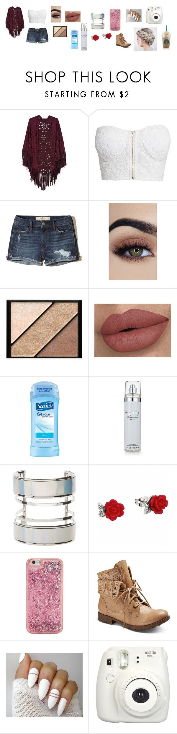 """""""Untitled #96"""" by angelicaortega-i ❤ liked on Polyvore featuring NLY Trend, Hollister Co., Elizabeth Arden, Kenneth Cole, Charlotte Russe, ban.do, Z London and Fujifilm"""