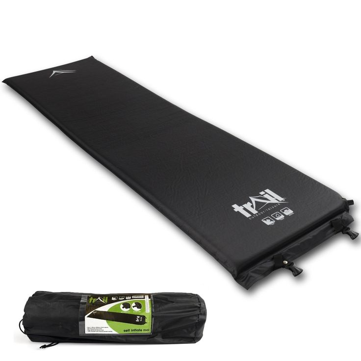 Double Self-Inflate Camping Mat: Amazon.co.uk: Sports & Outdoors
