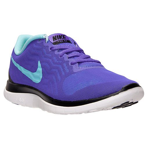 Women\u0026#39;s Nike Free 4.0 V5 Running Shoes - 718412 536 | Finish Line | Persian Violet