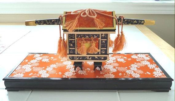 Miniature Japanese Section  Hinamatsuri by OishisoBitsAndBites, $15.00