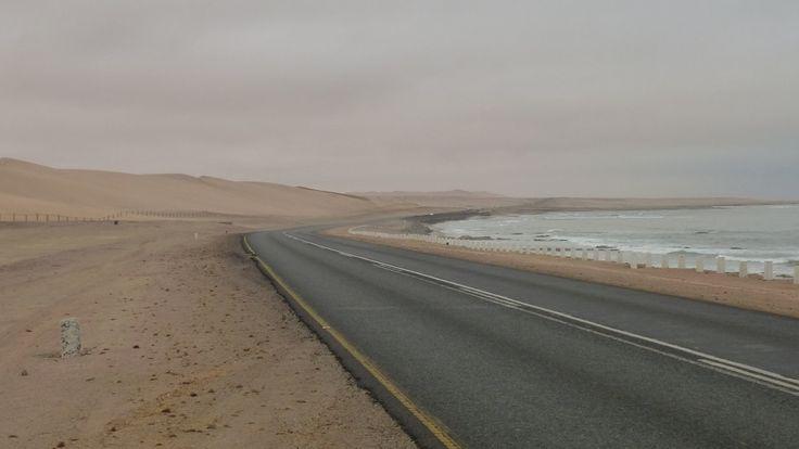 Viaje en bicicleta por Namibia. Etapa 7, de Swakopmund a Walvis Bay.