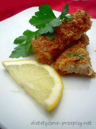 Proponuję Wam dzisiaj przepis na paluszki rybne w panierce pełnoziarnistej. Są pysznym sposobem na zdrowy obiadek, ale równie dobrze mogą zagościć na wigilijnym stole. Pychotka:)