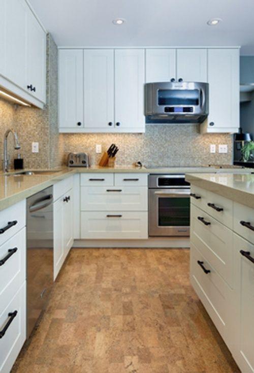Small L-shaped Kitchen | small white L shaped kitchen design