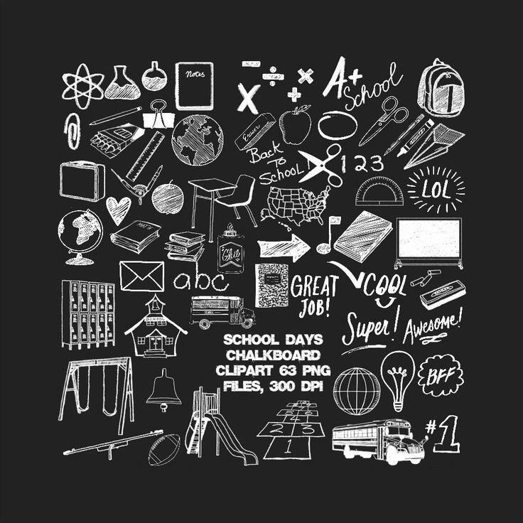 school theme clipart png - Поиск в Google