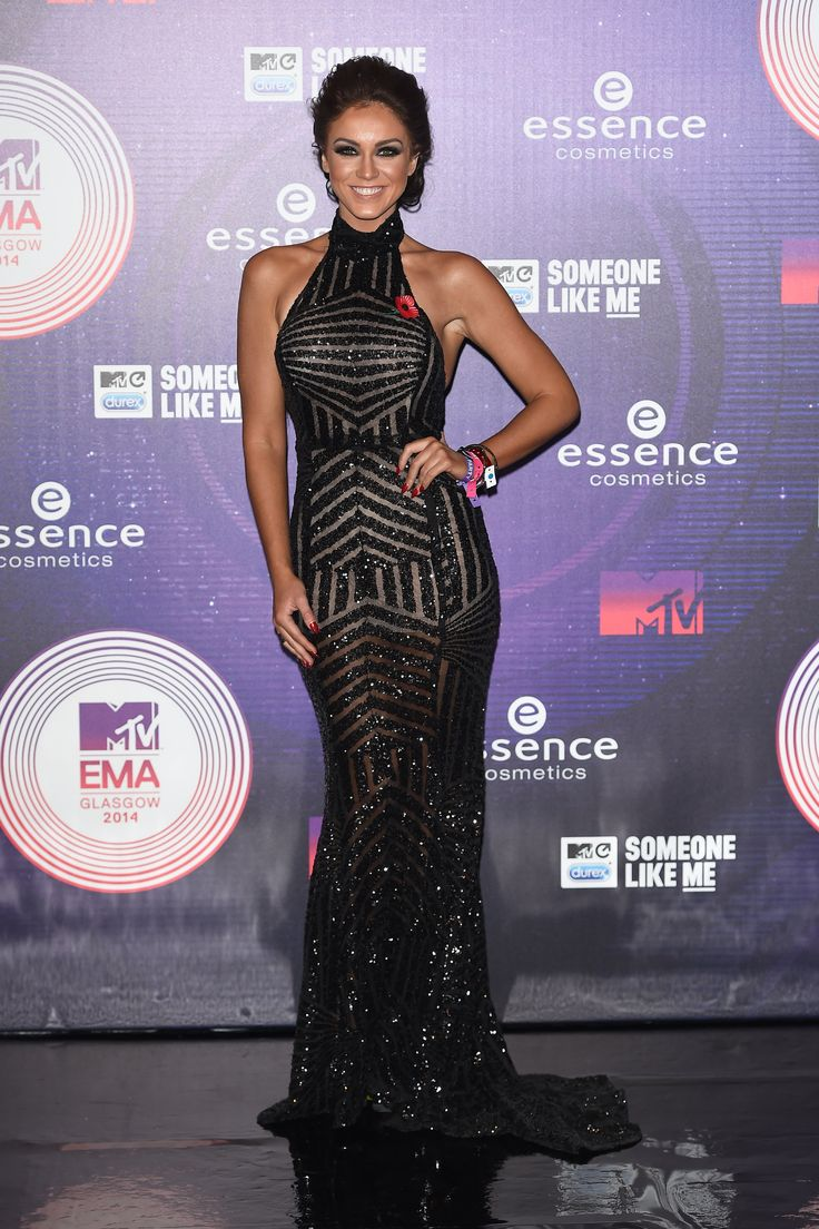 BEST: Vicky Pattinson | Vicky Pattison was a sparkly vision in this high-neckline gown. via @stylelist