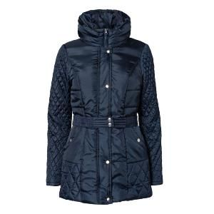 Vero Moda Ludo Quilted Jacket - Black iris. Only £29.99 inc Free Delivery