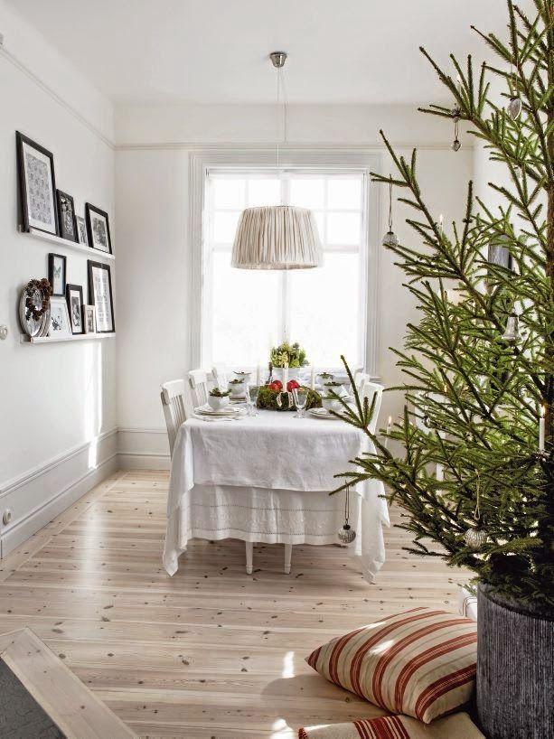 17 best images about casa decoradas para navidad on - Decoracion navidena natural ...