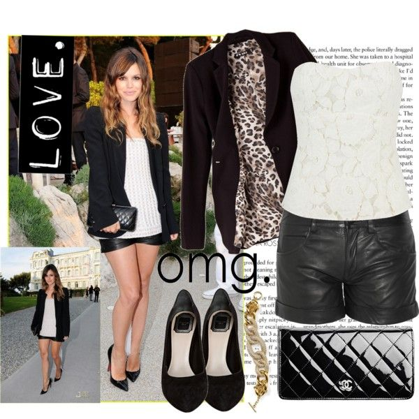 Rachel Bilson by mandysol on Polyvore featuring Mode, Forever 21, Vanessa Bruno Athé, Christian Dior, ABS by Allen Schwartz, Chanel, Rachel, Forum, women's clothing and women's fashion
