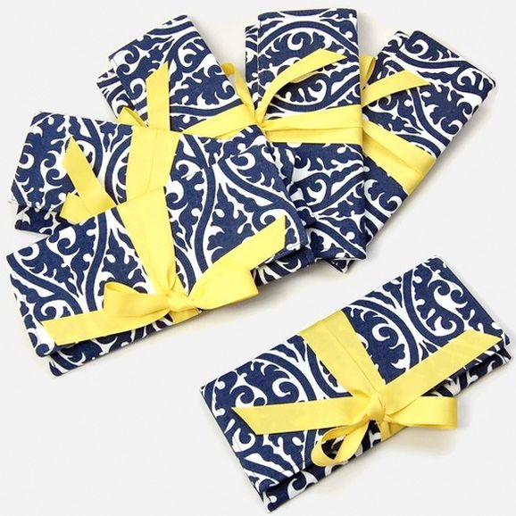 Shopping By Color Navy Blue Yellow Wedding Accents