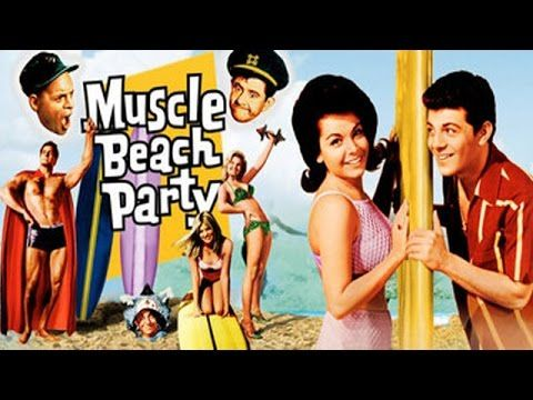 Muscle Beach Party 1964 Frankie Avalon Annette Funicello