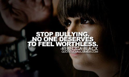 quotes about bullying tumblr   10 Anti Bullying Pictures and infographics for the classroom ~ The ...