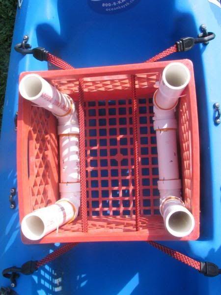 TexasKayakFisherman.com • View topic - Homemade Milk Crate Kayak Cart