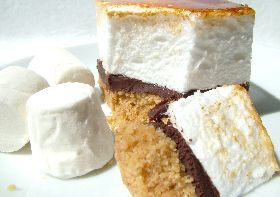 Toasted marshmallow, Marshmallows and Squares on Pinterest