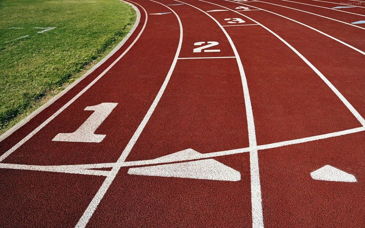 Resultado de imagen para pistas de carrera atletismo