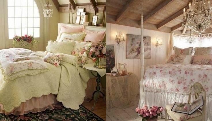Shabby Chic υπνοδωμάτια Για ρομαντικά υπνοδωμάτια με χαρακτήρα.