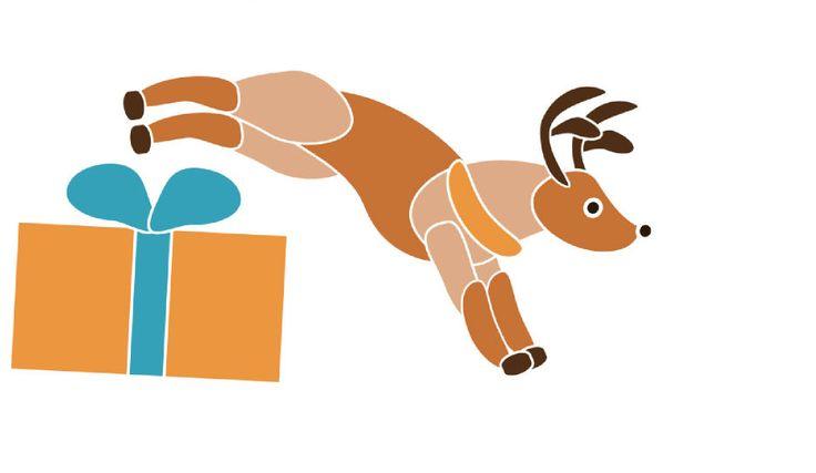 Questa renna si chiama Fulmine, ed è l'immagine del nostro #pacchetto natalizio che potete regalare a Natale: 2 lezioni, la tessera associativa e lo zainetto di Spazio Aries per portare il necessario alla lezione! splendida idea #natalizia eh? contattate la segreteria per le confezioni #regalo! regalate yoga o pilates a chi vi sta a cuore! http://www.spazioaries.it/Upload/Modules/News_Article.php?ID=121