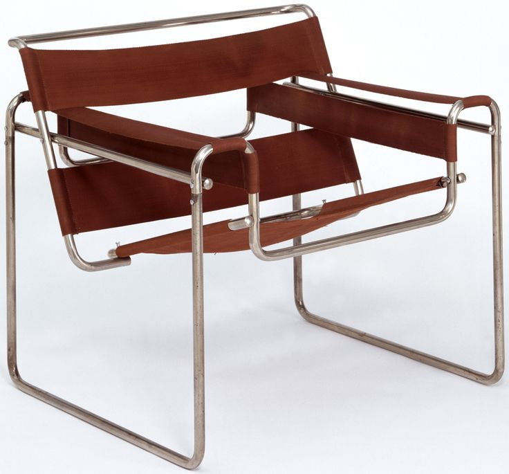 Club chair, model B3. Arm chair, can be use in waiting rooms, offices, etc. The chair is made of stainless steel and fabric. Can be use by some visitors or people who will use it for a while.