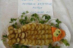 Salata de salau cu maioneza - Culinar.ro