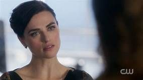 """Katie McGrath as Lena Luthor in the CW's """"Supergirl"""" TV series"""