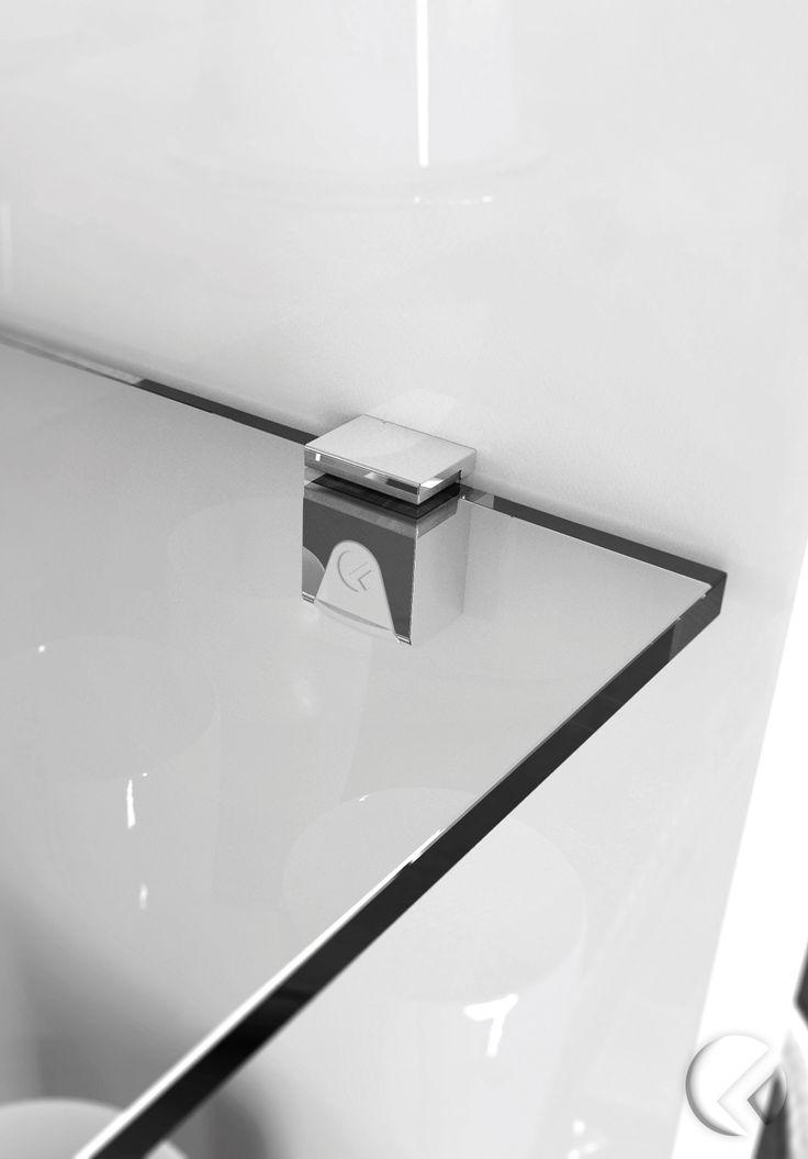 25 best glass shelf supports ideas on pinterest kitchen. Black Bedroom Furniture Sets. Home Design Ideas