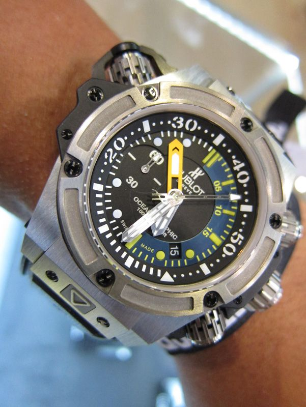 Hublot dive watch