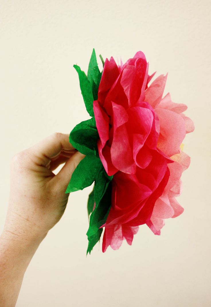 Making Colorful Paper Flowers Is A Tradition In Mexico On Cinco De