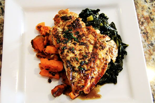 how to cook chicken breast in a pan healthy way