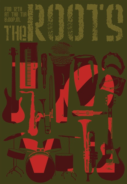 The Roots show poster.