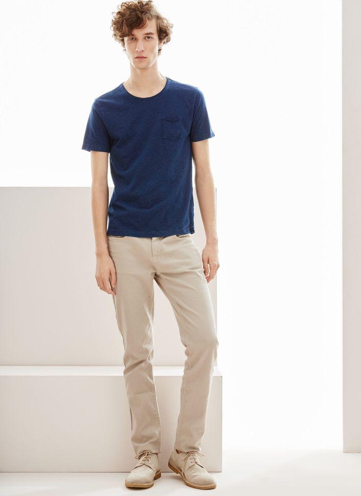 Camiseta de algodón Slim Fit - Camisetas y polos | Adolfo Dominguez shop  online