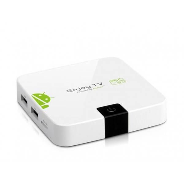 Turn Any TV into a Smart TV  Geniatech ATV400W HDMI Android Media Player – White  R1,113.04