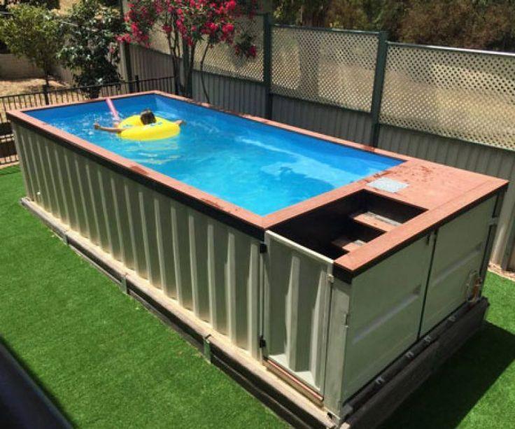les 34 meilleures images du tableau shipping container pool sur pinterest conteneurs piscine. Black Bedroom Furniture Sets. Home Design Ideas