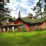 Jasper Lodge in Alberta, Canada