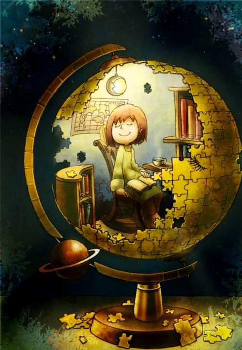 The world is a great library