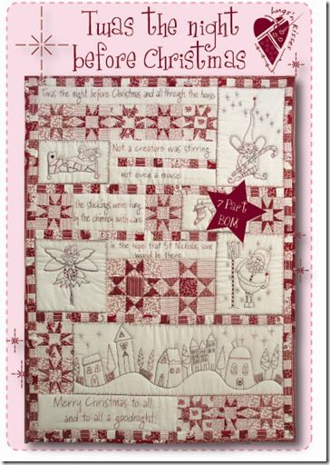 Twas the night before Christmas quilt | Quilts | Pinterest