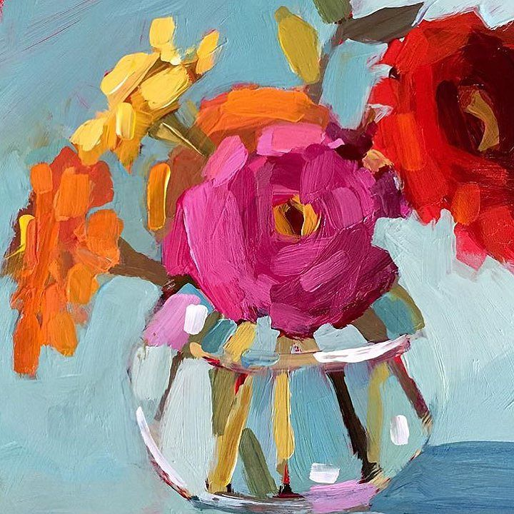 Watercolor Flowers And Paint Brushes: 1114 Best Images About To Paint On Pinterest
