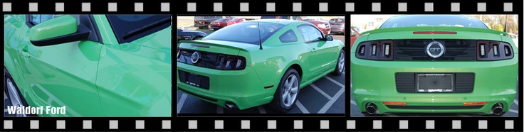 2013 Mustang GT Gotta Have it Green at Waldorf Ford #waldorfford