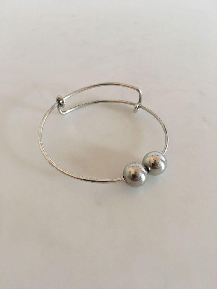 Bent Knudsen Sterling Silver Bracelet #BentKnudsen