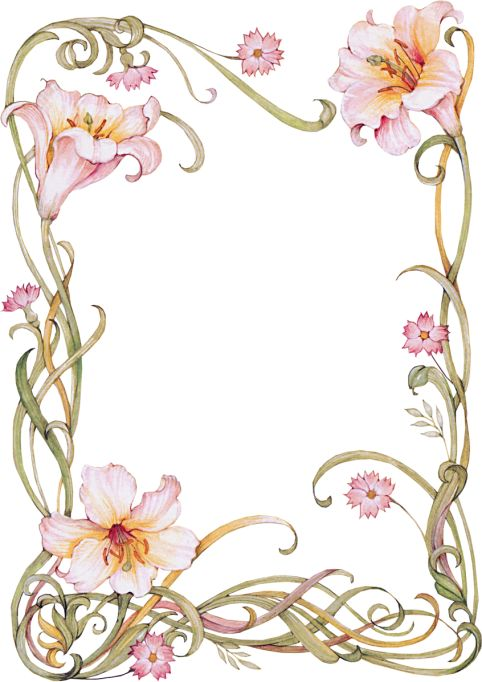 Lilies Frame
