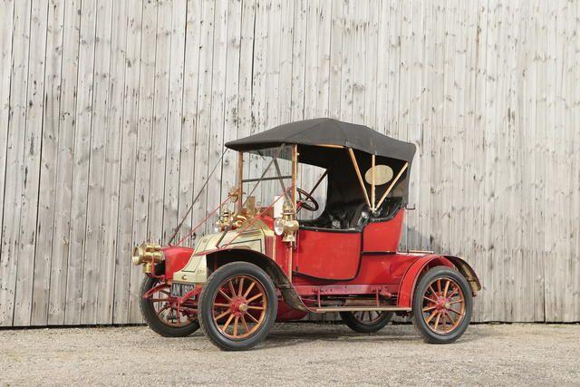 1910 Renault AX 8HP   Chassis no. AX24695 Engine no. 9028