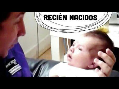 Recién Nacidos - Primer Mes - Actividades de Estimulación Temprana - YouTube