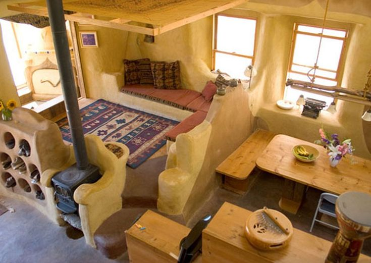 Stunning Cob House Interior Design Ideas(6)