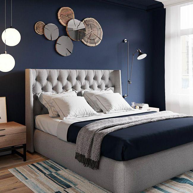 13+ Chambre parentale bleu nuit ideas