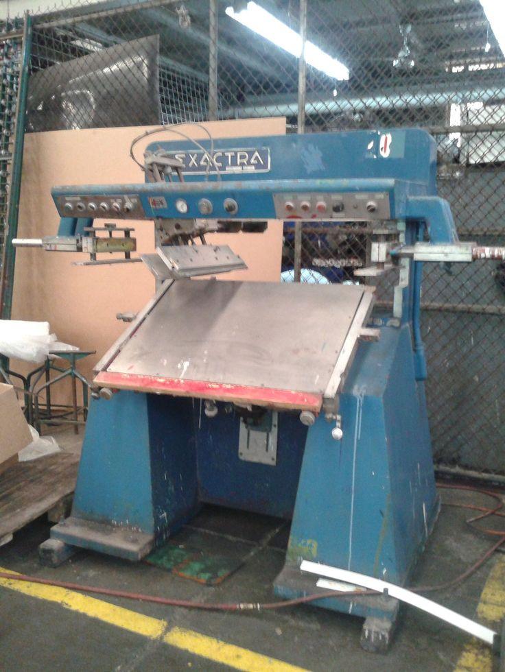Impresora de Serigrafia - Maquinaria Industrial Usada gdl