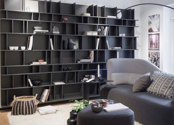 Shelves are everything in a room, right? New inspiration from our chaotic shelves. Make it as big as you want! #shelvies #shelf #shelfstyling #styling #decor #interiordesign #myhousebeautiful #designideas #boconceptla #boconcept #intagood #details #livingroom #livingroomdecor #interiortrends