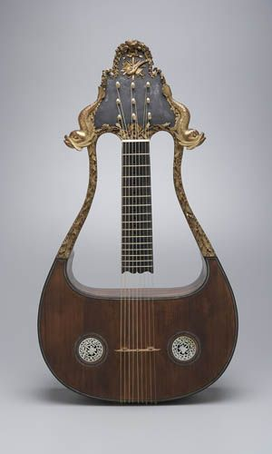 Lyre-Guitar  French, 18th century  Jean Charles  Marseilles, 1785