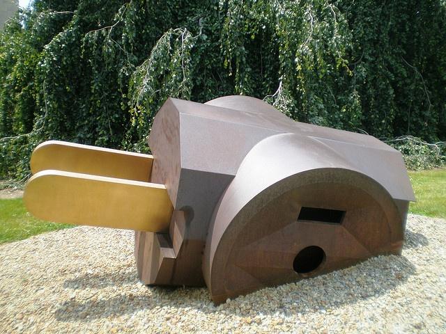 Claes Oldenburg 'Giant Three-Way Plug', Allen Memorial Art Museum, Oberlin Ohio. by hanneorla, via Flickr