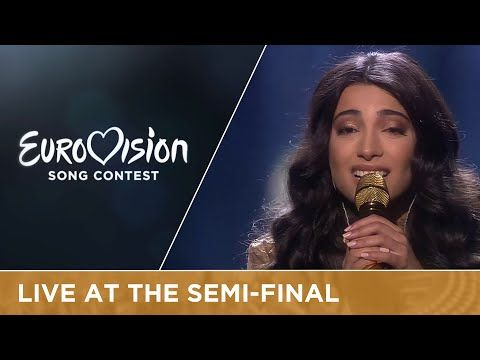 Samra - Miracle (Azerbaijan) Live at Semi - Final 1 of the 2016 Eurovision Song Contest - YouTube