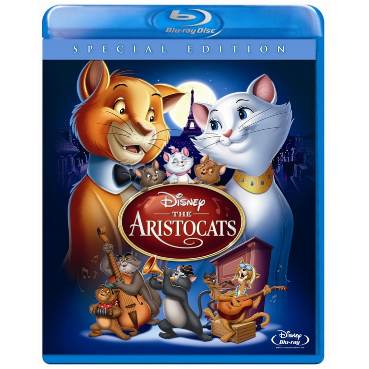 Disney Blu-ray The Aristocats (TICK)