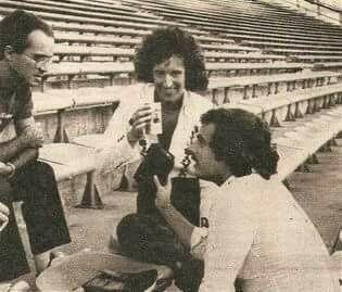 Brian May, Argentina 1981.